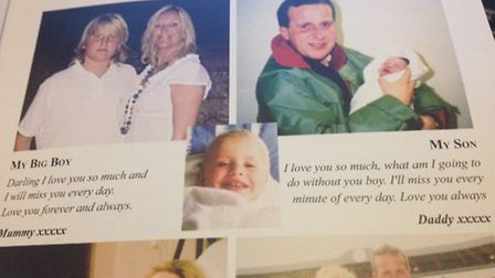 Messages from Henry's mother and father