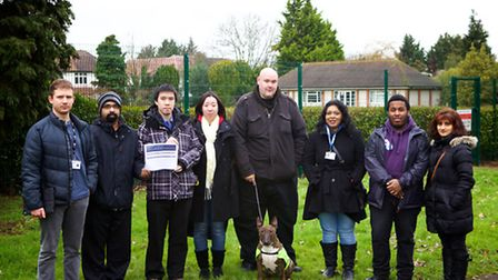 Residents, including Cllr Sam Stopp, are fighting plans to put The London Welsh School in an unused