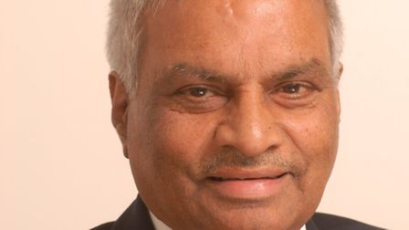 Bhiku M Patel, Conservative Party councillor for Kenton died of a heart attack aged 70