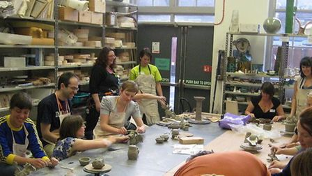 City and Islington College's ceramics department faces the axe
