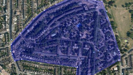 Curfew: The Highbury Quadrant Estate is subject to a dispersal order Pic: Google