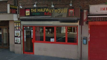 The Halfway House, Seven Sisters Road, Google Street View