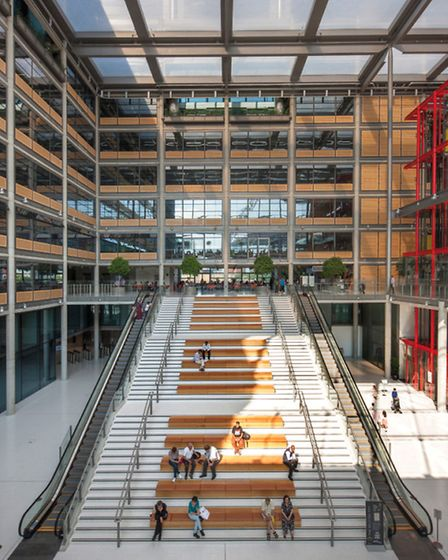 The building has previously won a RIBA London Awards (Pic credit: Morley von Sternberg)