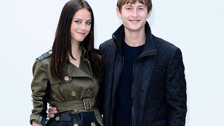 Elliott Tittensor with Kaya Scodelario, his girlfriend at the time of the incident Pic: Ian West/PA