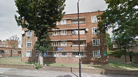 Two 13-year-old girls were left in hopstial after a savage attack by a gang outside Crouch Hall Cour