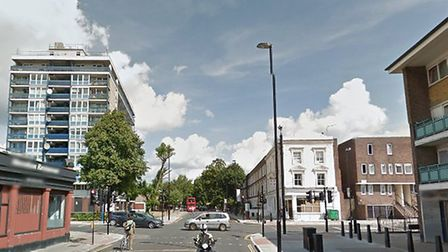 A 15-year-old boy was stabbed to death on Caledonian Road Pic: Google