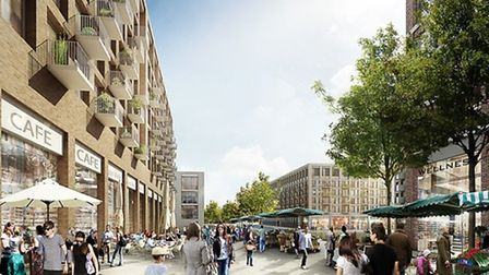 How the shopping centre could look