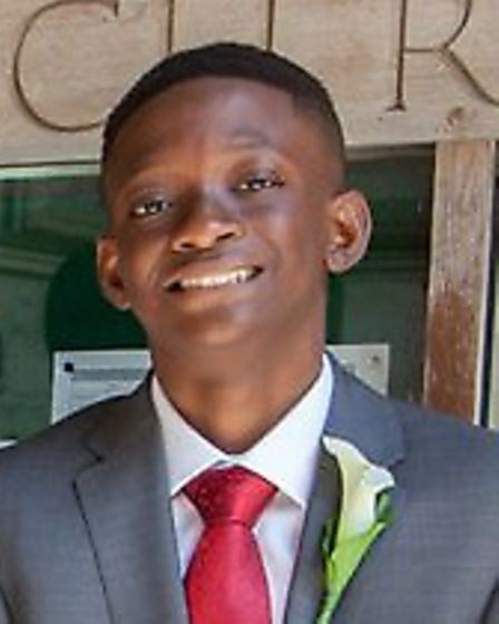 Josh Dorgu was a year 12 student at Highgate School
