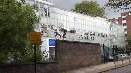 The former Ashmount Primary School which is now Whitehall Park