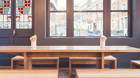 Den: A simple, stripped back design lets the food do the talking
