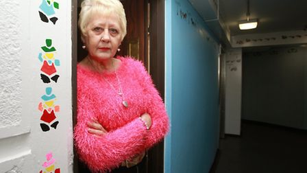 Resident Jo White is upset as the council wants to paint over her stencil artworks