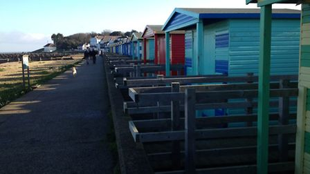 Fisherrman huts are available to hire - or you can but one for a mere £30,000