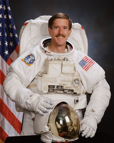 James Reilly has travelled to space three times (Pic credit: NASA)