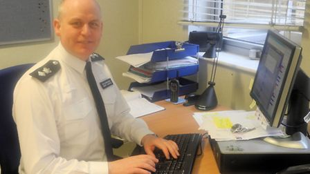 Borough Commander Ch Supt Gerry Campbell, leaving the hotseat after more than two years