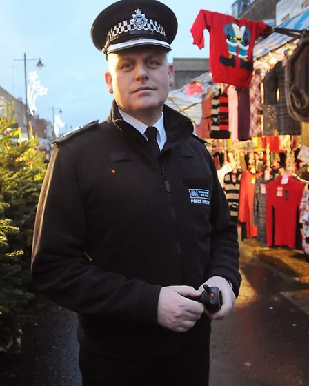 Ch Supt Campbell 'I'm leaving with mixed emotions' Pic: Dieter Perry