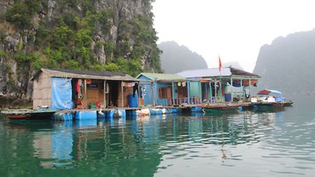 The implausible floating village