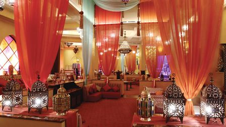 Morjana offers traditional Moroccon cuisine