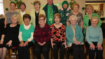 BIAS celebrated St Patrick's Day with a special lunch and lots of dancing (Pic credit: Lucia Butler)