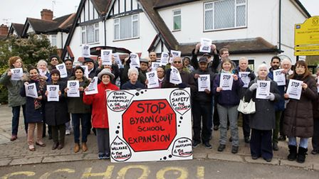 Parents, residents fighting plans to expand Byron Court Primary School in Spencer Road to take 1050