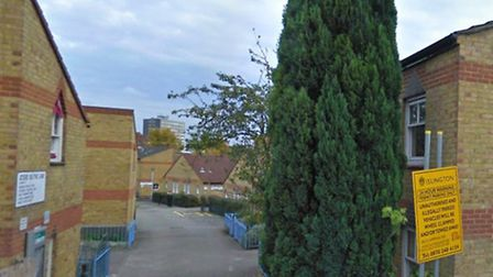 A man was stabbed in Daisy Dobbins Walk, Hornsey Rise (Google Street View)