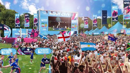Wembley Park will be a Fanzone (Pic credit: Brent Council)