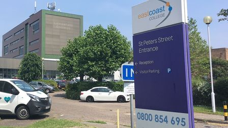 East Coast College has submitted an application to replace the cladding at its Lowestoft campus on S