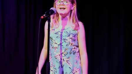 Corton's Got Talent entrants for 2019. Katherine Taylor singing For Good from Wicked. Pictures: Mick