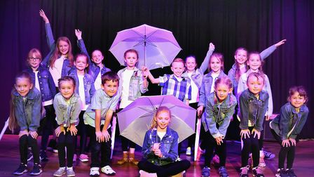 Corton's Got Talent entrants for 2019. Mrs Whall's after school dance club. Pictures: Mick Howes