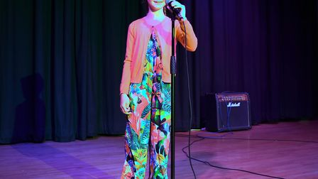 Corton's Got Talent entrants for 2019. Olivia Bagshaw singing The Cure, by Little Mix. Pictures: Mic