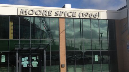 Moore Spice is next to Wembley Stadium