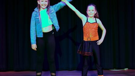 Corton's Got Talent entrants for 2019. Evie Thorne and Mia Tabiner, dancing to Solo by Clean Bandit.
