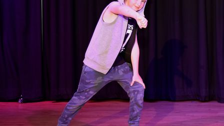 Corton's Got Talent entrants for 2019. Jack Stillwell dancing to Whip Nae Nae by Silento. Pictures: