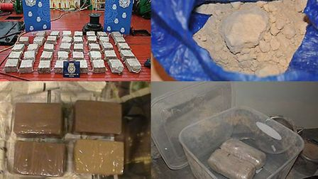 Some of the recovered drugs