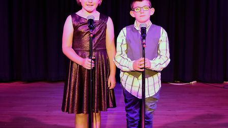 Corton's Got Talent entrants for 2019. Jade and Hamish McKinney singing A Million Dreams from The Gr