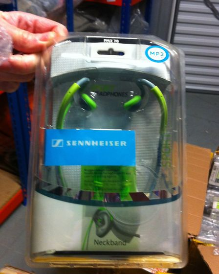 Anton Dyleuski sold fakeSennheiser headphones like these from his home in Cricklewood (Pic credit: B