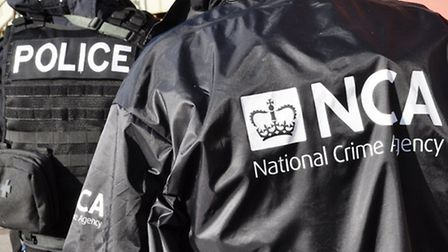 National Crime Agency made two arrests