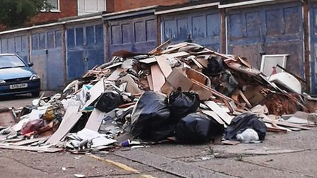 Christopher Stokes, owner of PJ Rubbish Removals, admitted carrying out this incident of fly-tipping