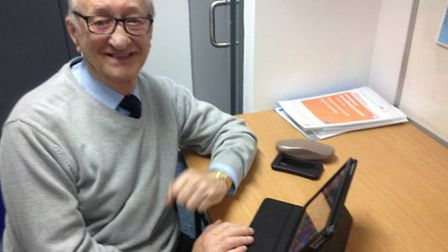 Arthur Mills, 85, gained a new lease of life through the internet