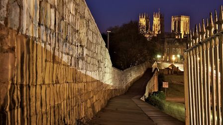 Strolling along the city walls is a must do if the weather's nice