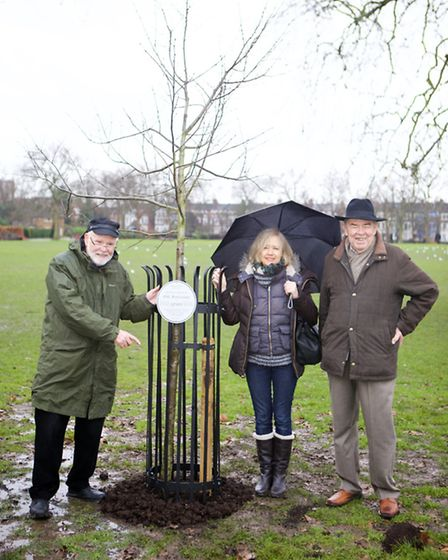 Queens Park Residents Association celebrated 40 years serving the community by planting a Wild Servi