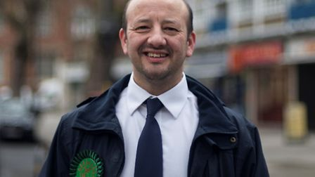 Charlie Kiss, Green candidate for Islington South and Finsbury