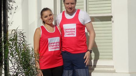 Dan and Jessica Jacobs have raised more than £12,000 in sponsorship for their London Marathon run