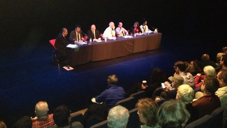 The candidates take a grilling at the Islington South and Finsbury hustings