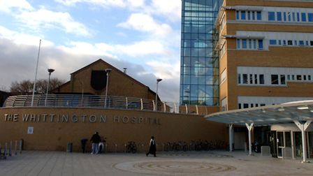 The Whittington Hospital will see significant cuts imposed over the next year