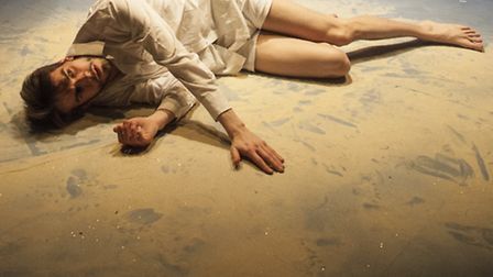 Joe Ayre in Act Without Words I. Picture: Alex Fine