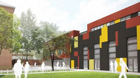 Proposed designs for the new Hampstead School teaching block