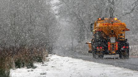 A total of 2,600 miles of Islington's roads were gritted Pic: David Cheskin/PA