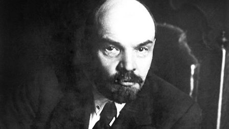 Vladimir Lenin, revolutionary leader of the first government of Soviet Russia, spent much of his tim