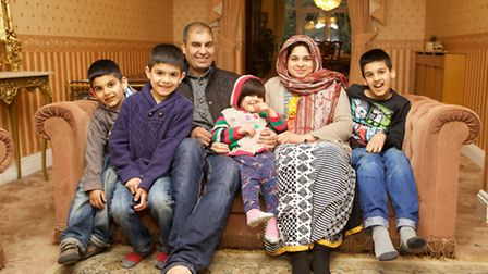 Rehan Sheikh fought off armed burglars to protect wife Maria and children Massab, Nafi, Eliza and Aw