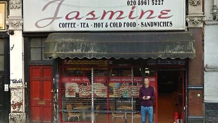 The Jasmine Cafe has been closed down for three months (Pic credit: Google streetview)